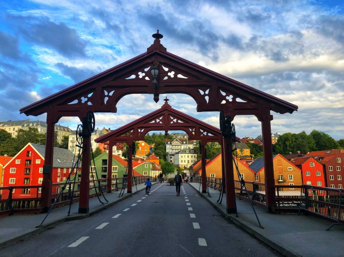 Trondheim's bridge of happiness is a place to kiss by Travel with Terri