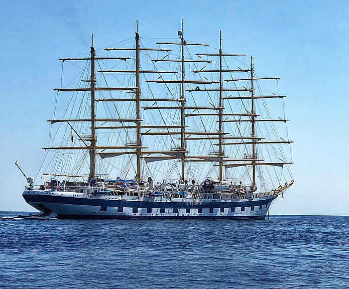 Places to Kiss on the Royal Clipper by Travel with Terri