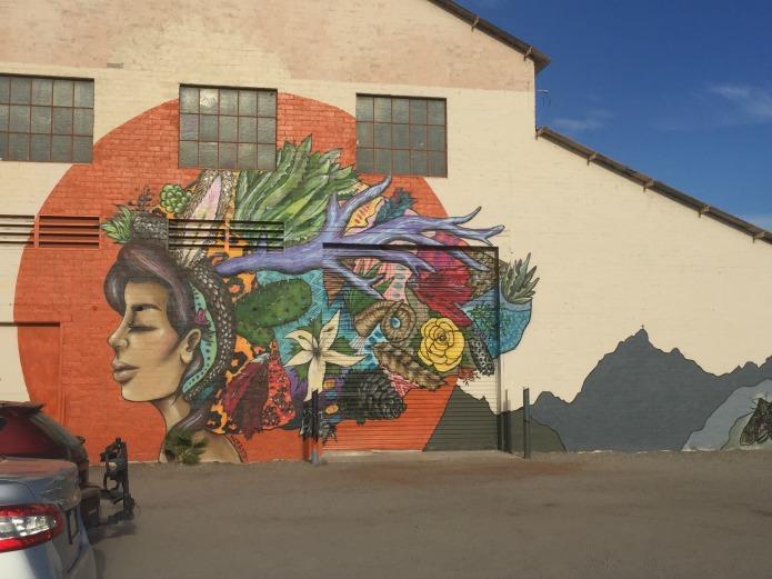 Art in Ajo Arizona on Around Wellington