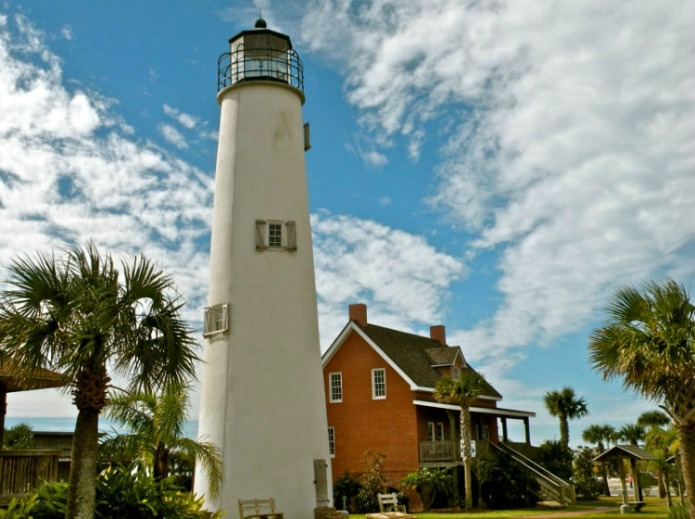 Cape George Light on a Florida road Trips with #travelwithterri for Around Wellington